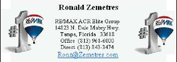 Ronald Zemetres contact information
