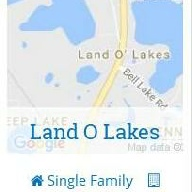 search land o lakes homes for sale